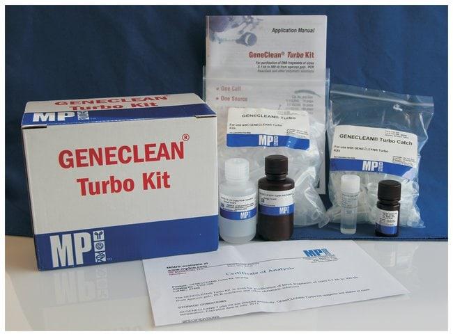 MP Biomedicals™Geneclean™ Turbo Kit Quantity: 50 preps MP Biomedicals™Geneclean™ Turbo Kit