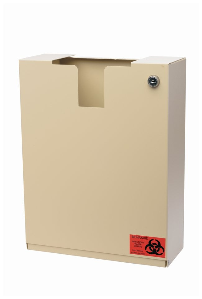 Post Medical Locking Sharps Security Cabinets