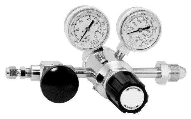 Restek™ Chrome-Plated Brass Gas Regulator