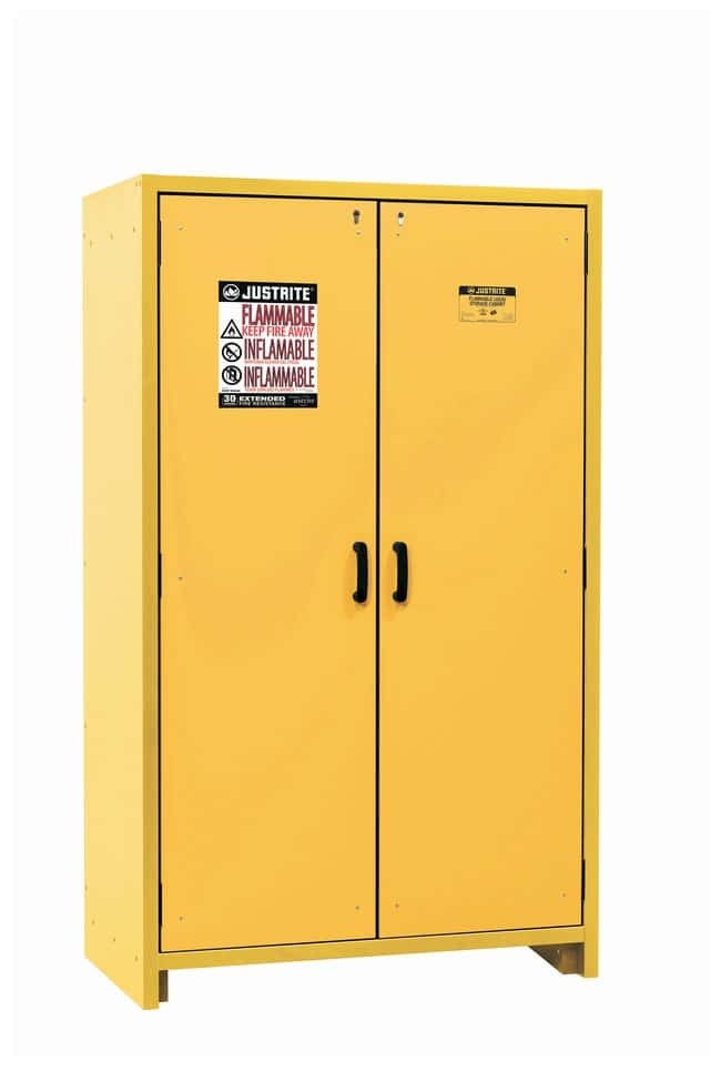 Justrite EN Safety Cabinets for Flammables  30 minutes fire resistance;