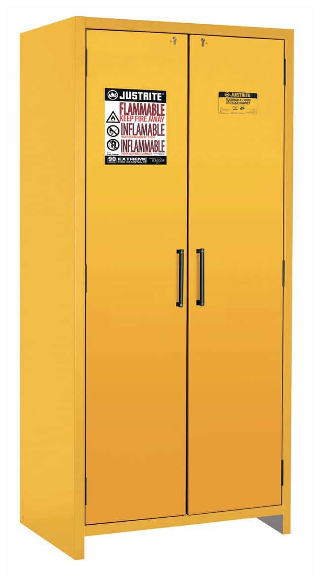 Justrite EN Safety Cabinets for Flammables  30 gal.; 2 doors:Fume Hoods