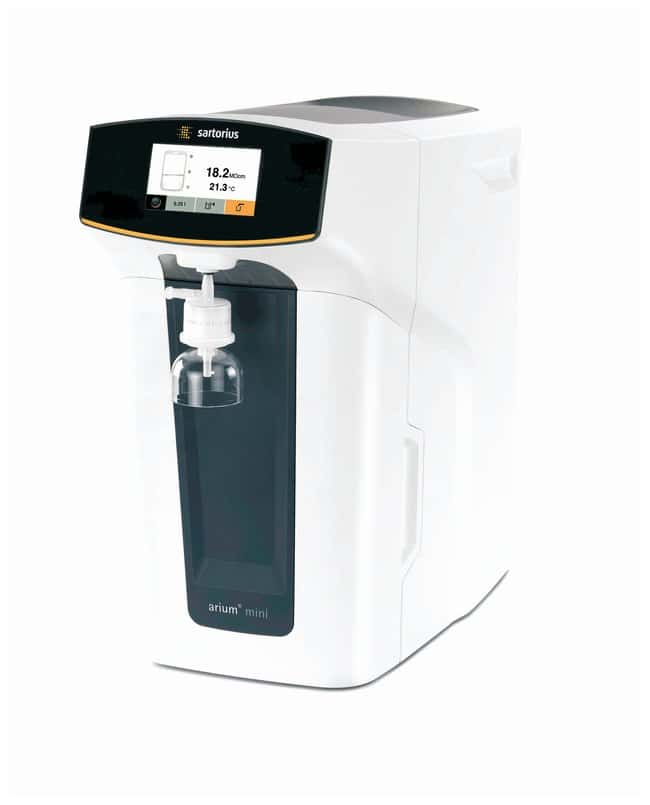 Sartorius arium mini plus Ultrapure Water System Bundle (PROMO) Flow rate: