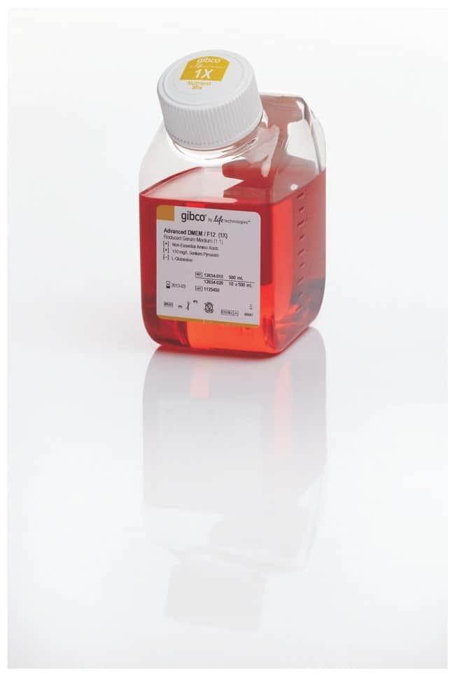 Gibco™ Advanced DMEM/F-12: Mamallian Cell Culture Media Cell Culture Media