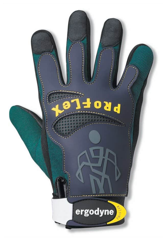 Ergodyne ProFlex 9015F(x) Certified Anti-Vibration Gloves with Dorsal Protection:Gloves,
