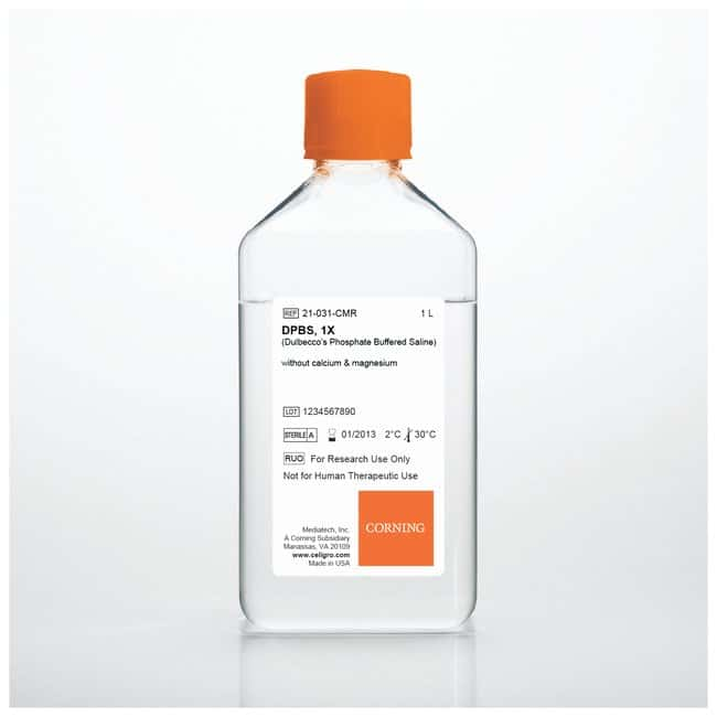 Corning™Cell Culture Buffers: Dulbecco's Phosphate-Buffered Salt Solution 1X