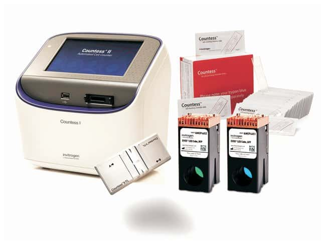 Invitrogen&trade;&nbsp;Countess&trade; II FL Automated Cell Counter Starter Kit&nbsp;<img src=