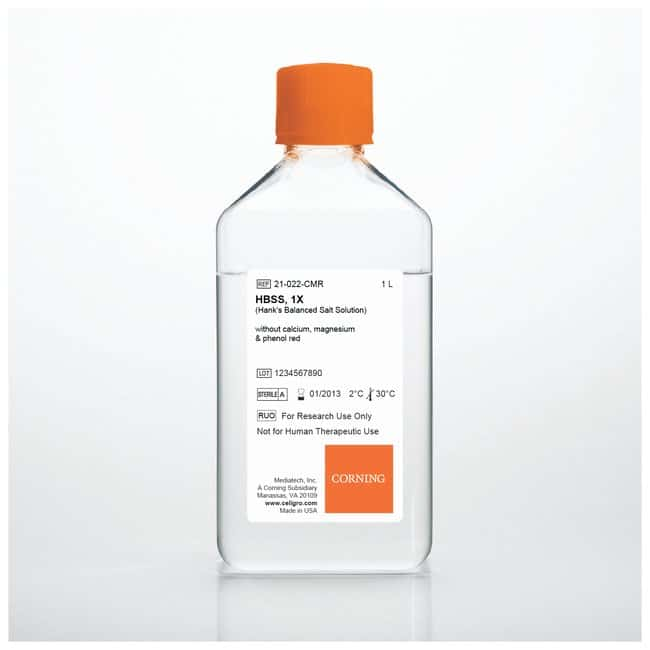 Corning Hank's Balanced Salt Solutions :Diagnostic Tests and Clinical Products:Histology,