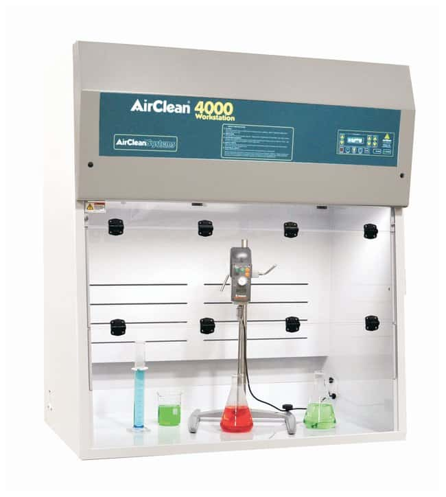 AirClean™ Systems Identification Workstation Series Ductless Fume Hood