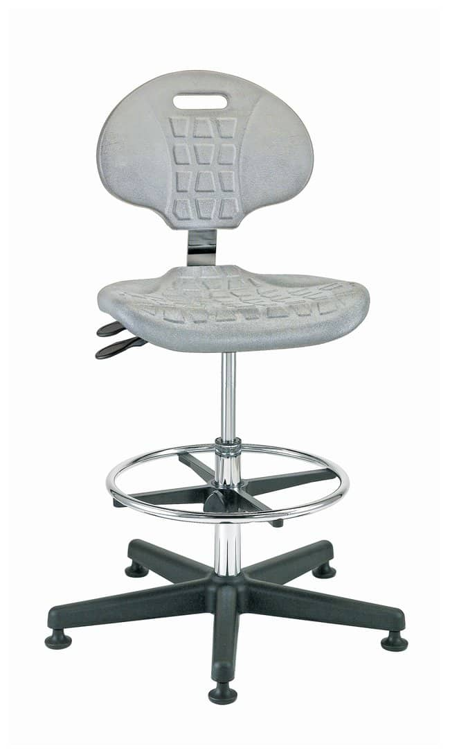 BevcoEverlast Series Cleanroom ISO 4 Polyurethane Seating, Mid Height,