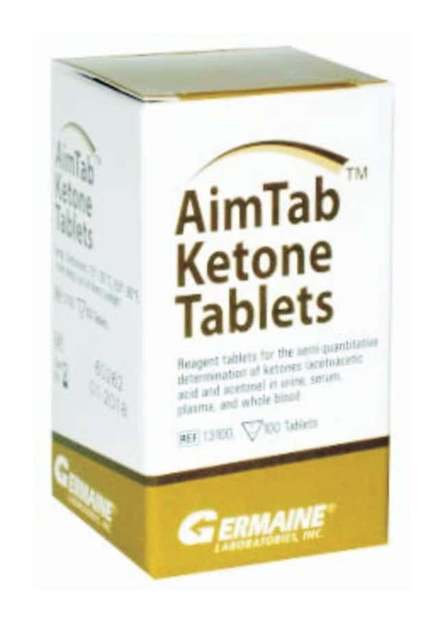 Germaine Laboratories AimTab Ketone Tablets 100 Ketone Tablets:Diagnostic