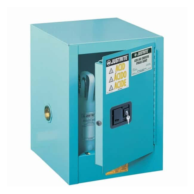 Justrite™Sure-Grip EX Countertop Corrosives/Acid Steel Safety Cabinet