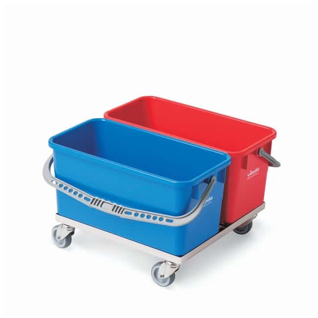 Vileda Professional Double Bucket Chassis with Two  6 Gallon Bucket with