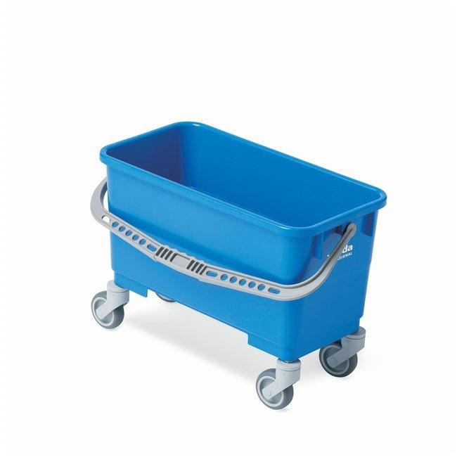 Vileda ProfessionalSingle 6 Gallon Bucket with Casters Single bucket with
