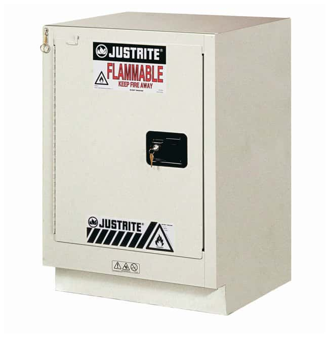 Justrite 15 Gallon ChemCor Under Fume Hood Corrosives/Acids Safety Cabinet