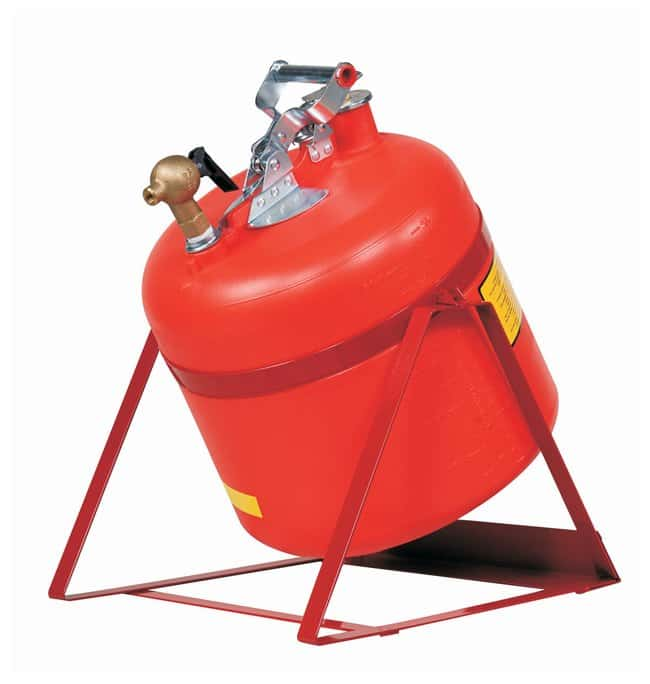 Justrite5 Gallon Tilt-Style Safety Can with Flame Arrester Type I Tilt