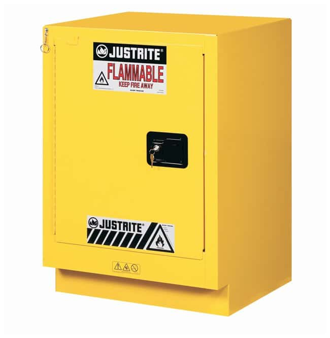 Justrite 15 Gallon Under Fume Hood Solvent/Flammable Liquid Safety Cabinet