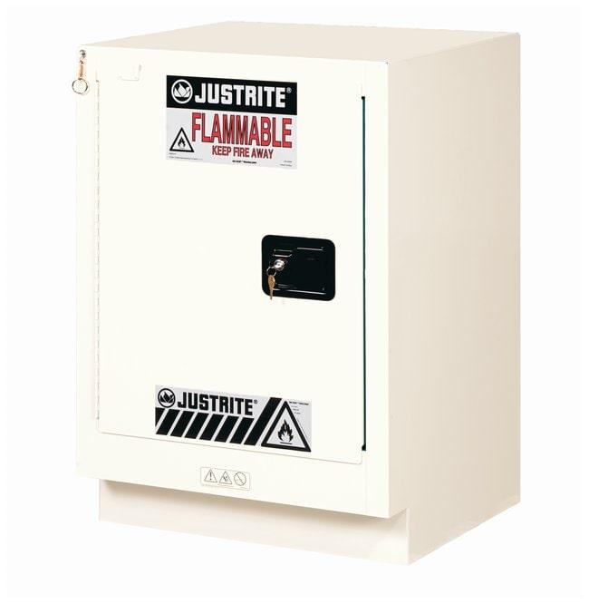 Justrite 19 Gallon ChemCor Under Fume Hood Corrosives/Acids Safety Cabinet