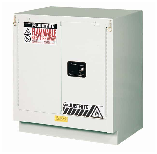 Justrite 19 Gallon Under Fume Hood Solvent/Flammable Liquid Safety Cabinet