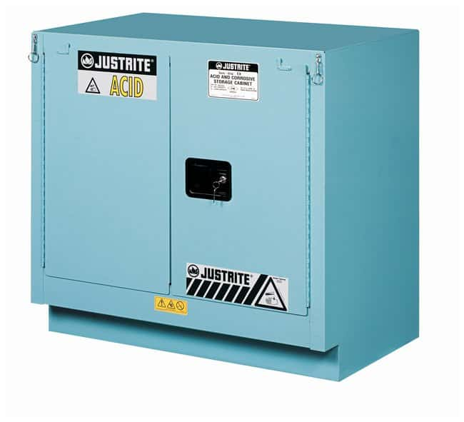 Justrite 23 Gallon ChemCor Under Fume Hood Corrosives/Acids Safety Cabinet