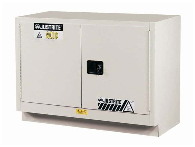Justrite 31 Gallon ChemCor Under Fume Hood Corrosives/Acids Safety Cabinet