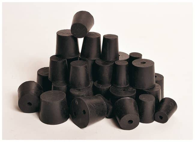 United Scientific Supplies Rubber Stoppers, One Hole  Size: 1:Teaching