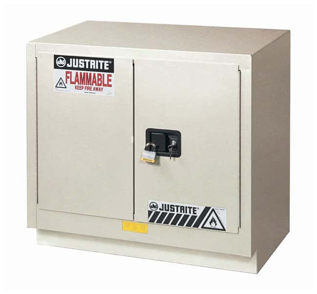 Justrite 23 Gallon ChemCor Under Fume Hood Corrosives/Acids Safety Cabinet