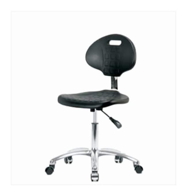 Fisherbrand Polyurethane Chrome Desk Chair  No arms:Furniture, Storage,