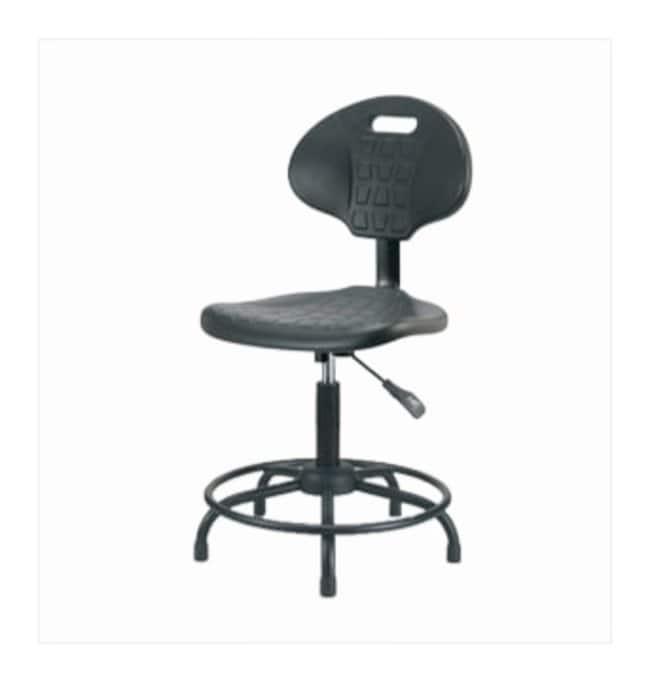 Fisherbrand Basic Industrial Polyurethane Chair Powder-Coated Steel Base