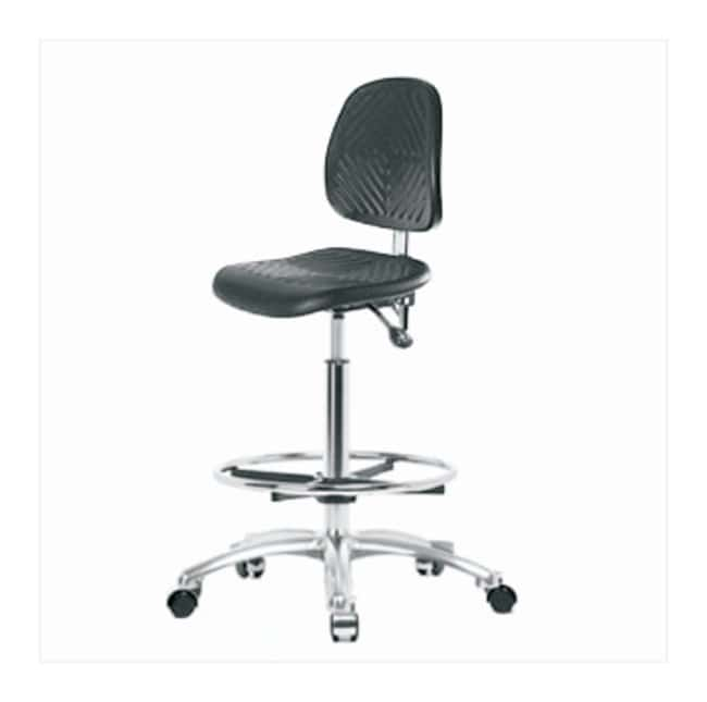 Fisherbrand High-Form Polyurethane Clean Room Chair  no arms; No tilt;