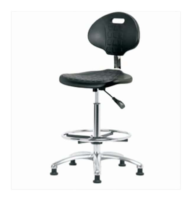 Fisherbrand Basic Industrial Polyurethane Chair with Chrome Base  No arms;