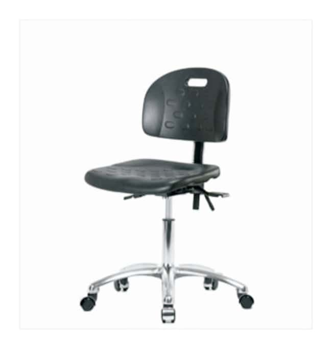 Fisherbrand Industrial Polyurethane Chair Chrome, Desk Height  No seat