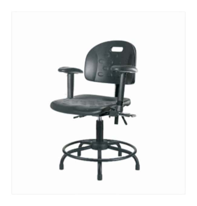 Fisherbrand Industrial Polyurethane Chair Round Tube, Desk Height  With