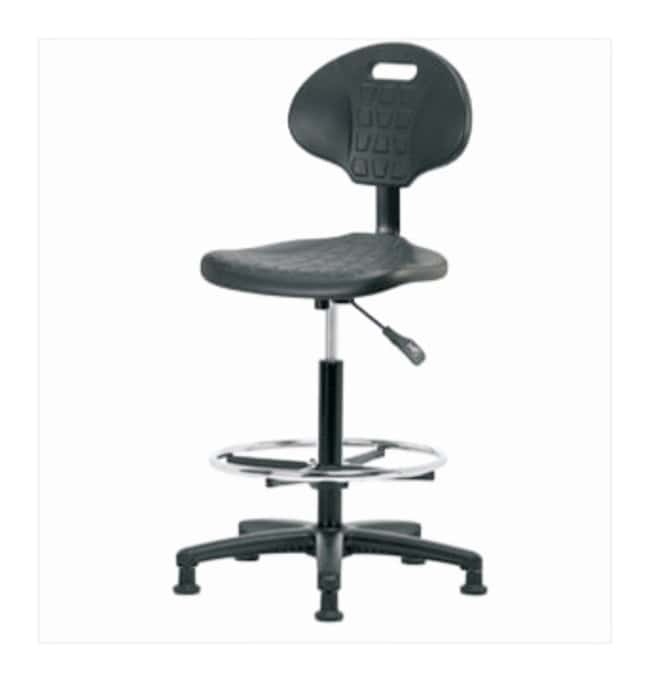 Fisherbrand Basic Industrial Polyurethane Chair, High Bench Height  No