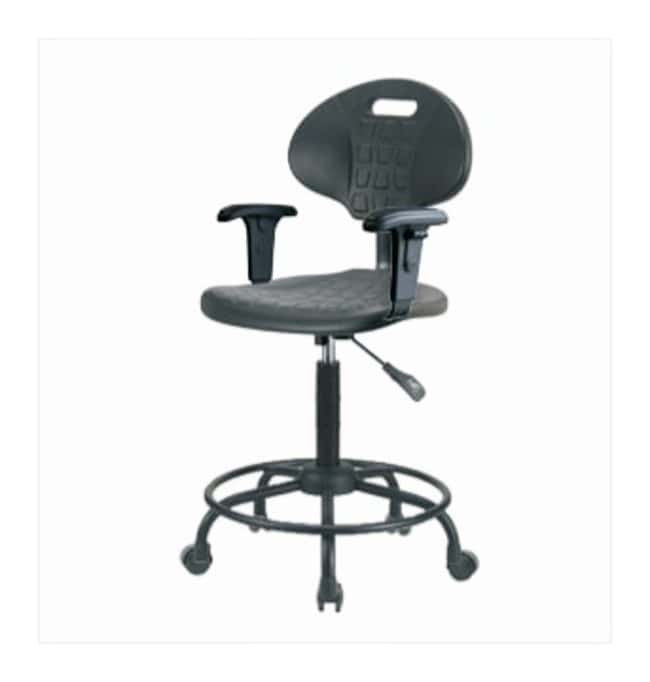Fisherbrand Basic Industrial Polyurethane Chair Round Tube, High Bench