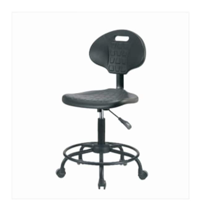 Fisherbrand Basic Industrial Polyurethane Chair Powder-Coated Steel Base