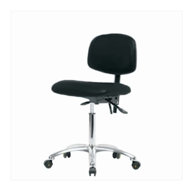 FisherbrandVinyl ESD Chair - Medium Bench Height with Seat Tilt and ESD