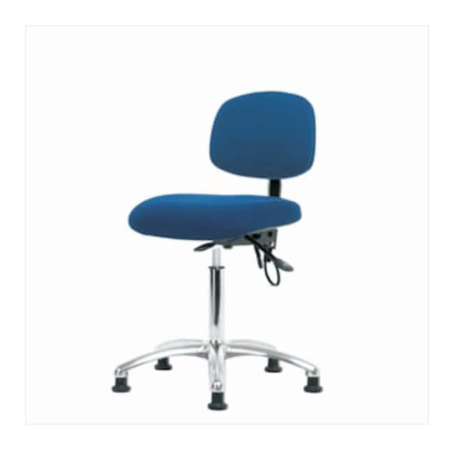 FisherbrandFabric ESD Chair - Medium Bench Height with Seat Tilt and ESD