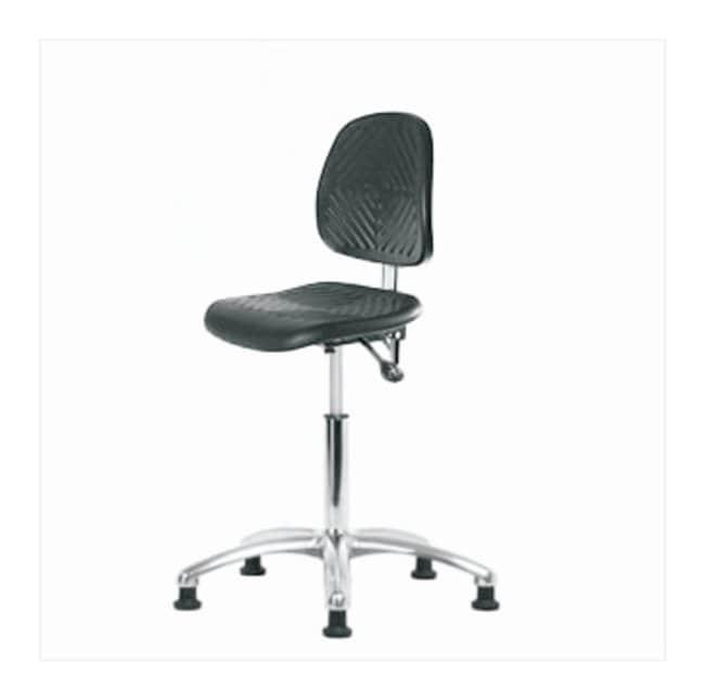 Fisherbrand Medium-Form Polyurethane Clean Room Chair  no arms; No tilt;