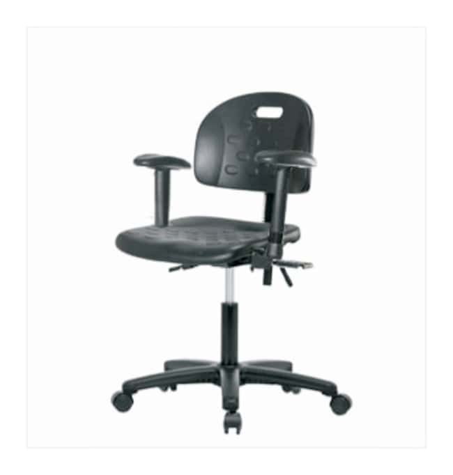 Fisherbrand Industrial Polyurethane Chair  With seat tilt; With adjustable