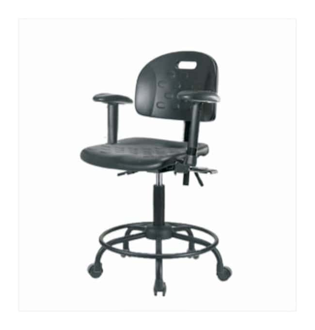 Fisherbrand Newport Industrial Polyurethane Chair with Round Tube Base