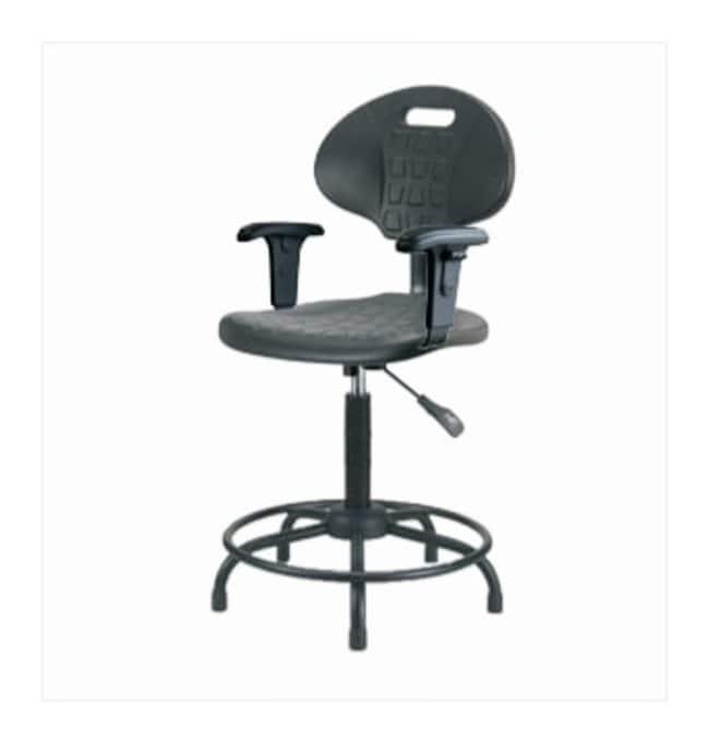 Fisherbrand Basic Industrial Polyurethane Chair Round Tube, High Bench