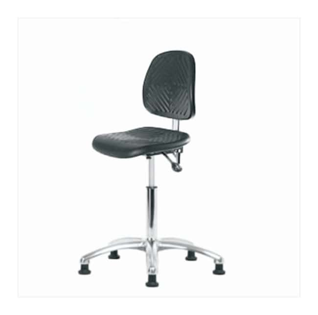 Fisherbrand Medium-Form Polyurethane Clean Room Chair  no arms; With tilt;