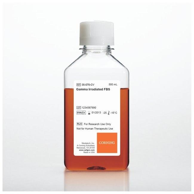 Corning™Fötales Kälberserum, Premium (gammabestrahlt) 500ml Fötale Kälberseren