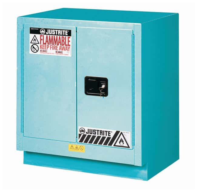 Justrite 19 Gallon ChemCor Under Fume Hood Corrosives/Acids Safety Cabinet