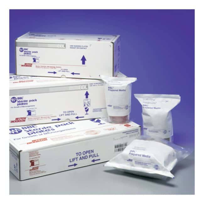 BD BBL™ Trypticase™ Soy Agar with Lecithin and Polysorbate 80 Sterile Pack Media - RODAC Plates
