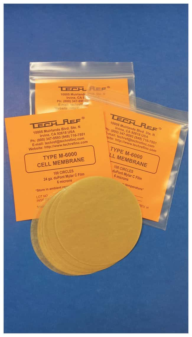 TECHREF Type M-6000 Membrane/Mylar Film - Filtration, Membranes for  Filtration