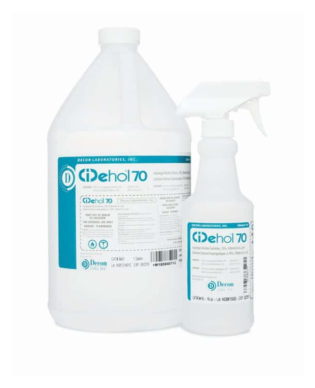 Decon™ CiDehol™ 70 Isopropyl Alcohol Solution
