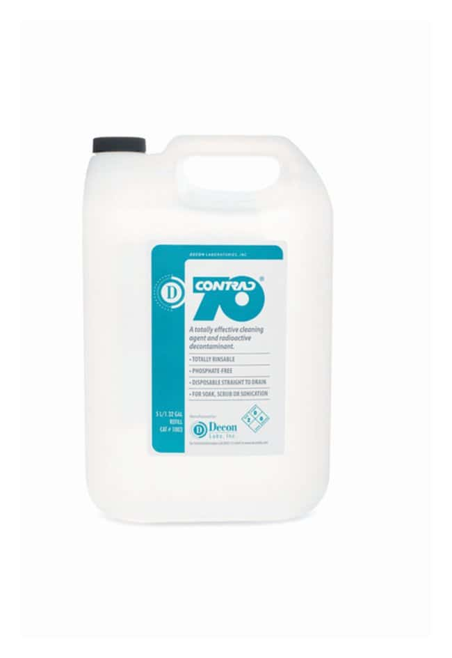 Decon Contrad 70 Liquid Detergent   34 oz. (1L):Gloves, Glasses and Safety