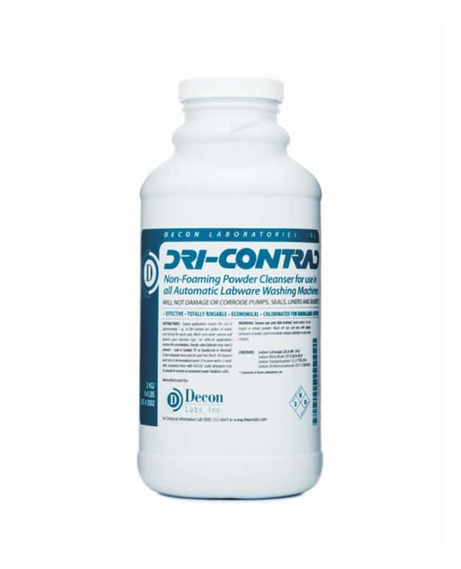 Decon Dri-Contrad Detergent Powder :Gloves, Glasses and Safety:Cleaning