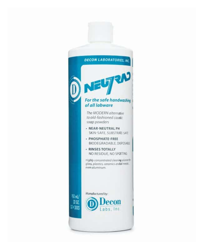Decon™ Neutrad™ Liquid Detergent